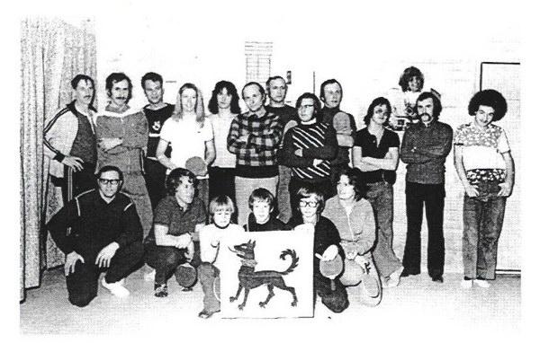 TTC Toggenburg im Jahre 1973.